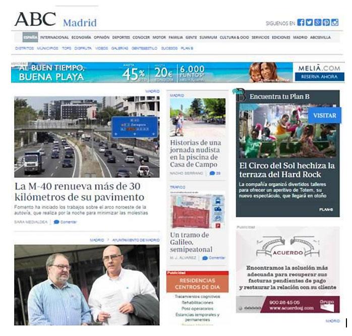 Campaña publicidad online en ABC