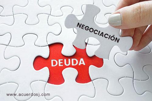 DEUDA Y NEGOCIACIÓN