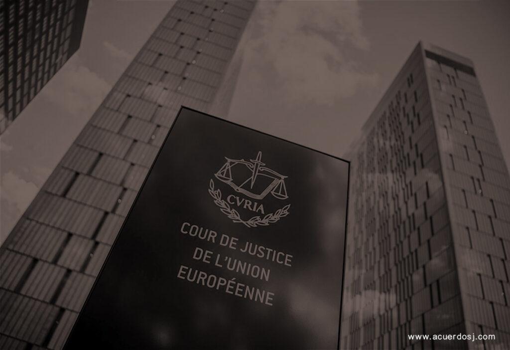 TRIBUNAL DE JUSTICIA EUROPEO